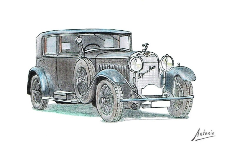 Hispano-Suiza H6B Berlina Kellner (1925)