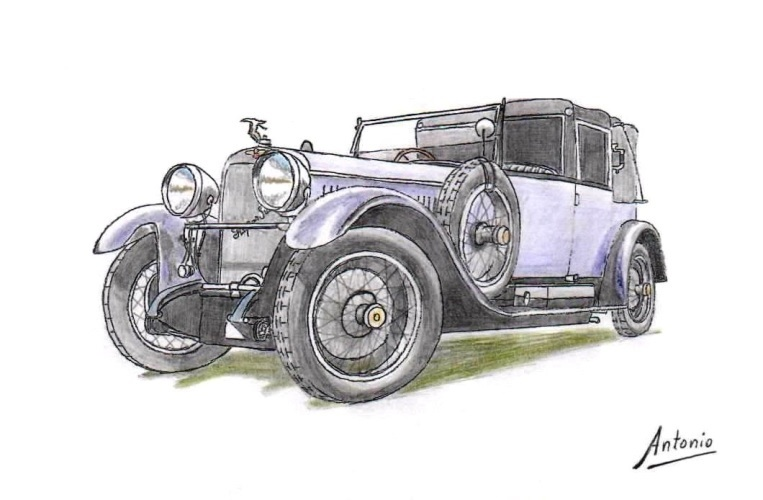 Hispano-Suiza H6B Convertible Kellner (1925)