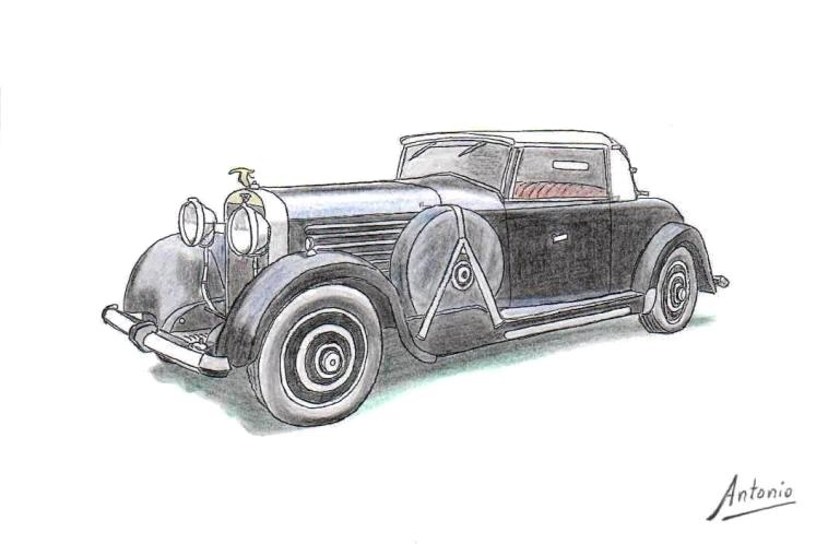 Hispano-Suiza H6B Cabriolet Million-Guiet (1930)