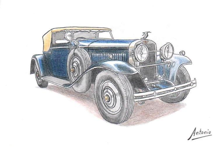 Hispano-Suiza H6B Convertible Victoria Rollston (1927)
