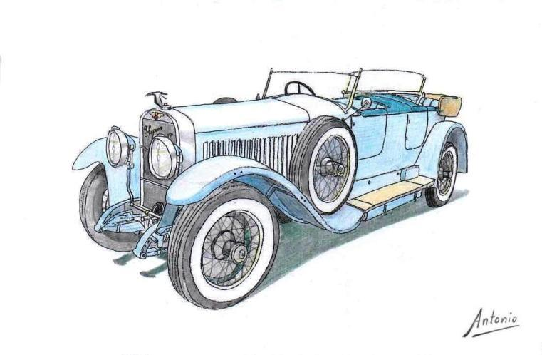 Hispano-Suiza H6B Torpedo Million-Guiet (1924)