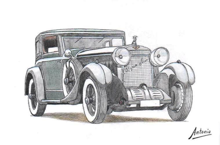 Hispano-Suiza H6C Coupé Coopers of Putney (1924)