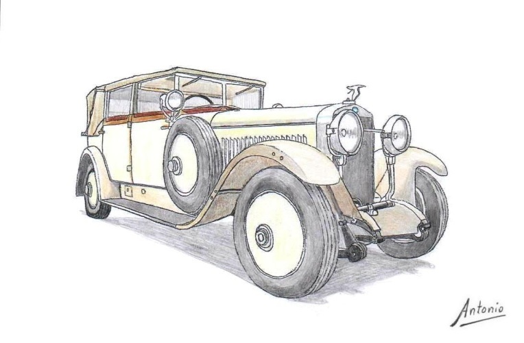 Skoda-Hispano-Suiza 25/100 PS Brozik (1928)