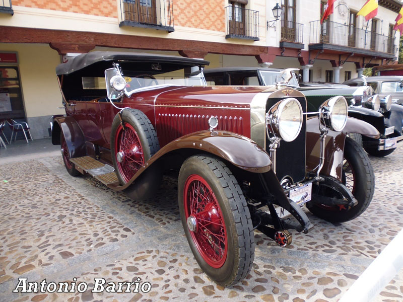 Hispano-Suiza H6B Torpedo Million-Guiet (1925)